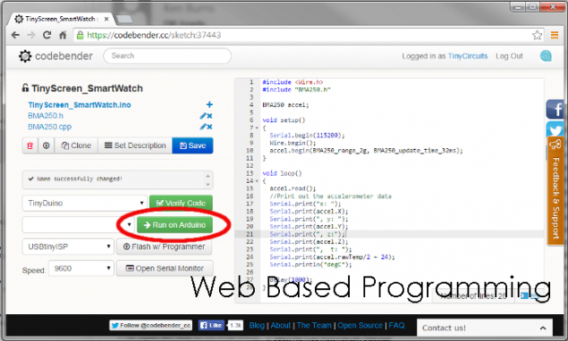 how to create a web based application