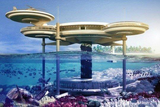 Unique underwater hotel in dubai worth half a billion for Unusual hotels in dubai