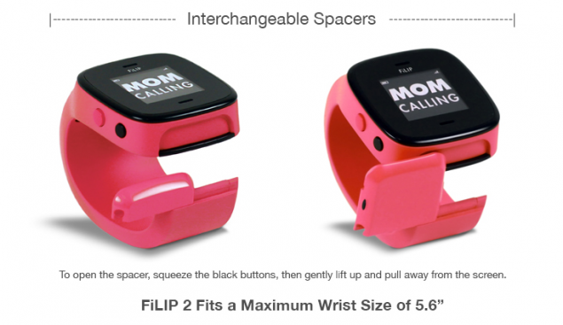 Умный браслет Детский трекер GPS Lineable Smart Band Size L Orange RWL-100ORLG