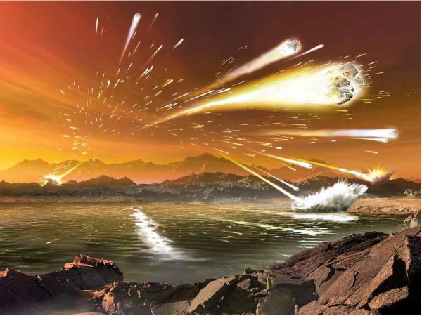 Sugar-grain sized meteorites rocked the climates of early Earth ...