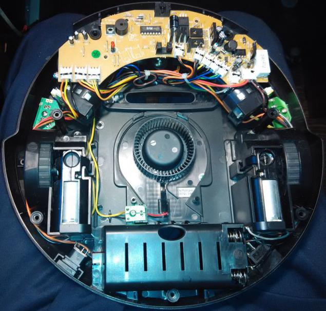 Dissect a cheap robot vacuum cleaner  Page 1