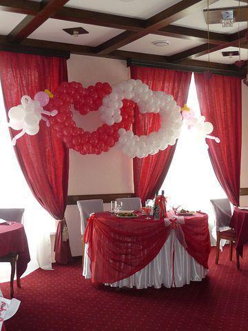 Украшение зала на свадьбу в стиле аэропорт