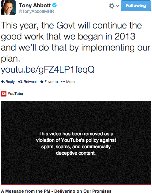 Youtube prohibi el canal de v deo oficial del ministerio for Ministerio del interior pagina oficial