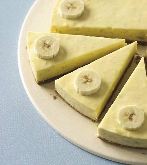 Чизкейк с бананом рецепт с фото