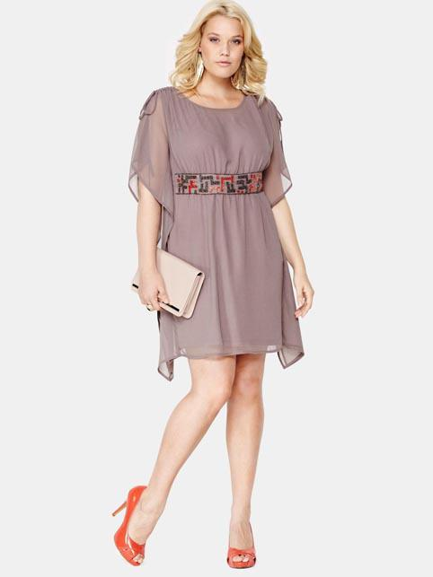 Нарядные платья для полных женщин