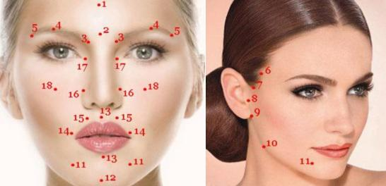 Acupressure facial rejuvenation and good mood.. Page 1