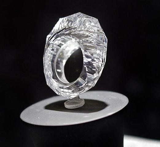 Biggest diamond ring in the world