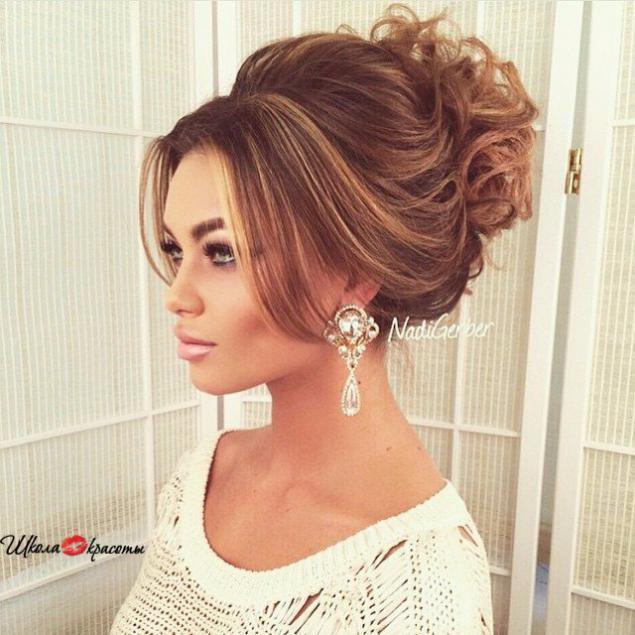 Фото красивых собранных причесок на длинные волосы
