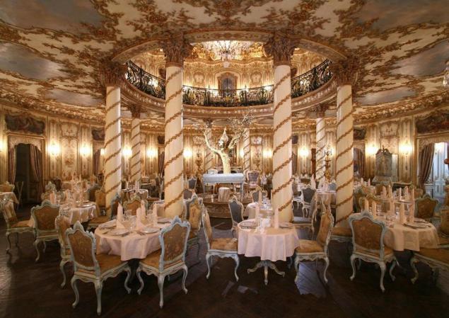 Ресторан в рококо стиле фото