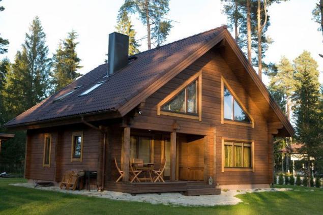 Casa de construcci n chapa de madera laminada protecci n - Casas de madera laminada ...