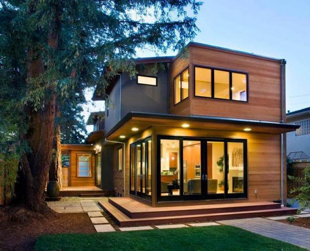 Tipos de techos casas ecol gicas de madera para la for Partes del techo de una casa