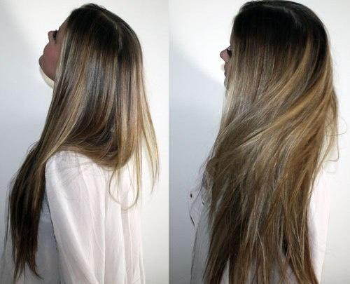Como quitar naroschennye los cabellos por medio del aceite