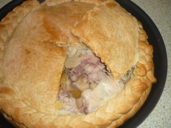 Тесто для курника на кефире пошаговый рецепт с