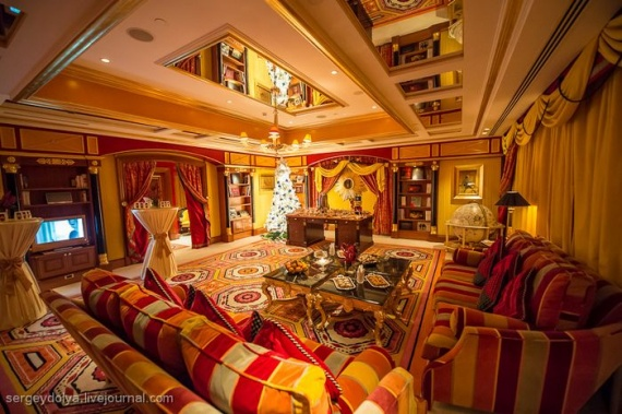 Christmas menu at the burj al arab 31 photos page 1 for Most expensive suite in dubai