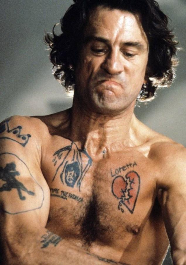 Los tatuajes m s v vidos de pel culas 17 fotos - Robert de niro el cabo del miedo ...