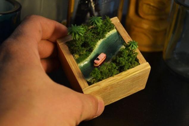 миниатюрный подарок своими руками