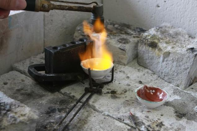 Золото расплавить в домашних условиях 347
