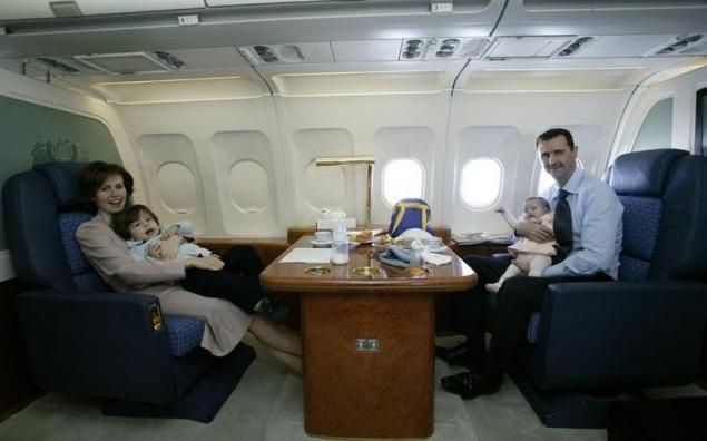 Syrian President and his family