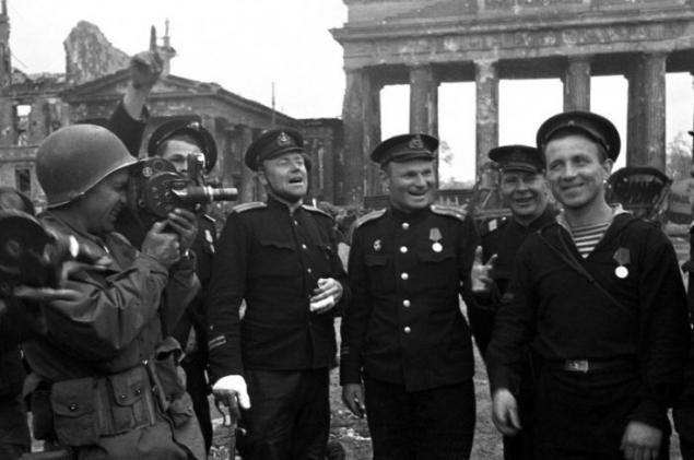 Праздник 9 мая 1945