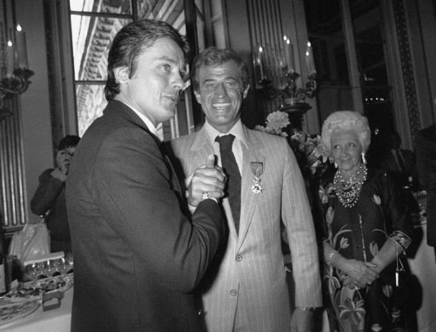 Two Great Actor Alain Delon And Jean Paul Belmondo Page 1