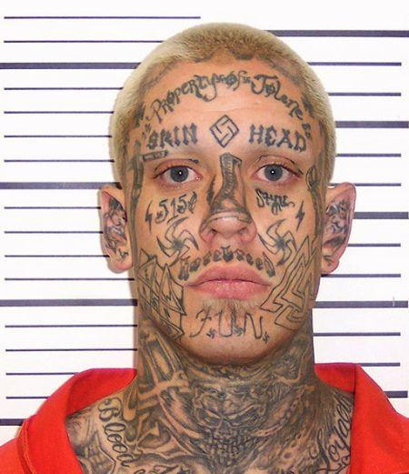 что лучше тюремные татуировки на лице значение предложения
