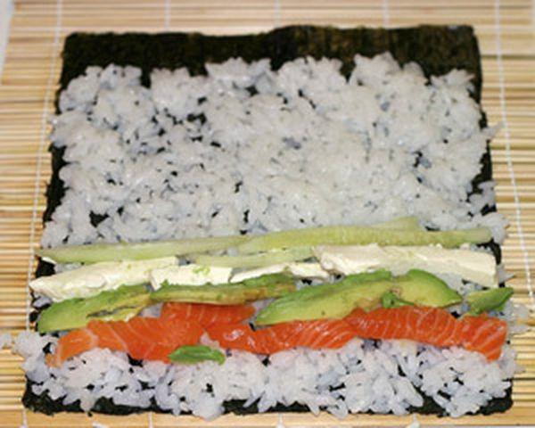Рецепт риса для роллов
