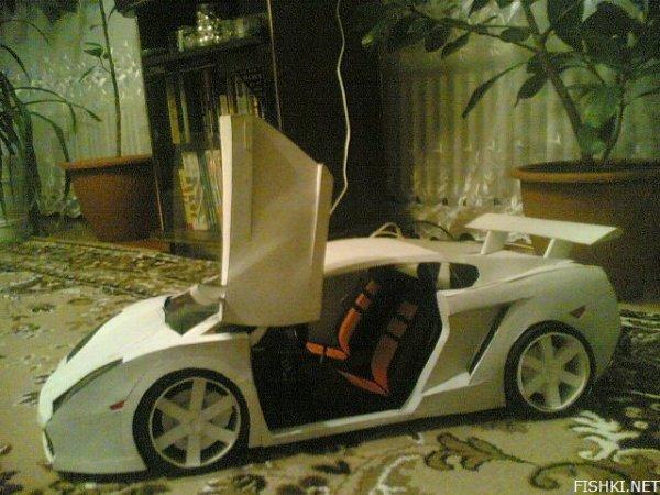 Как сделать из бумаги машину ламборджини картинки - SL photo