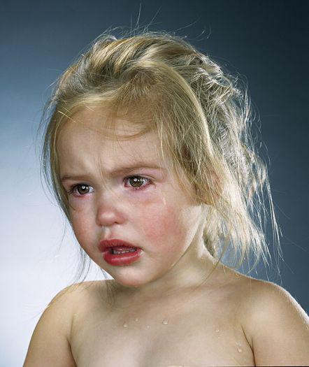 Bastante fuerte trabajo - niños llorando