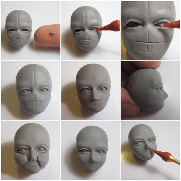 Как сделать куклу из глины своими руками фото 44