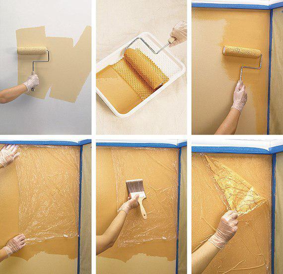 Как покрасить кухню своими руками фото