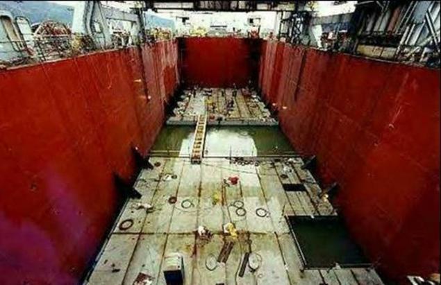Glomar Explorer Barge Hughes Glomar Explorer»