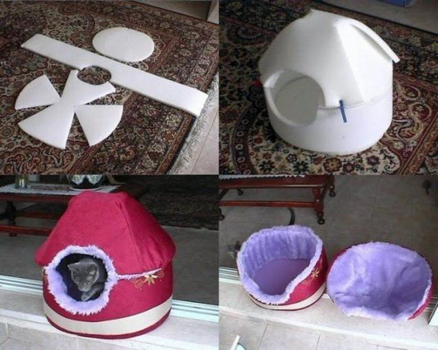 Как сделать игрушки для котёнка своими руками дома 32