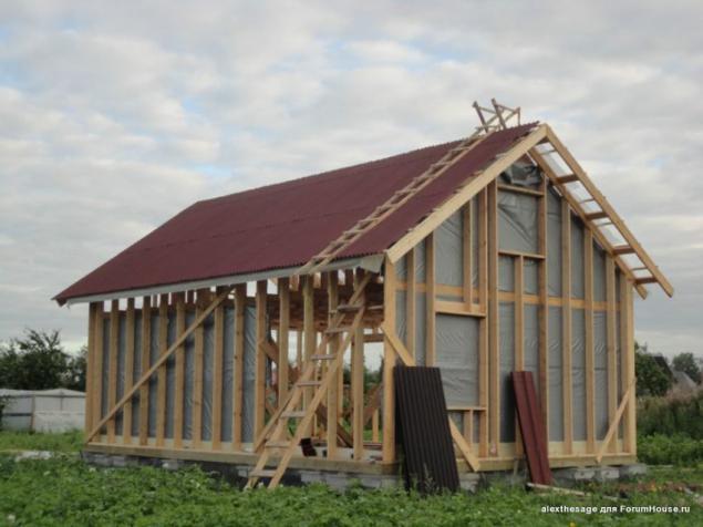 Из чего недорого построить домик на даче