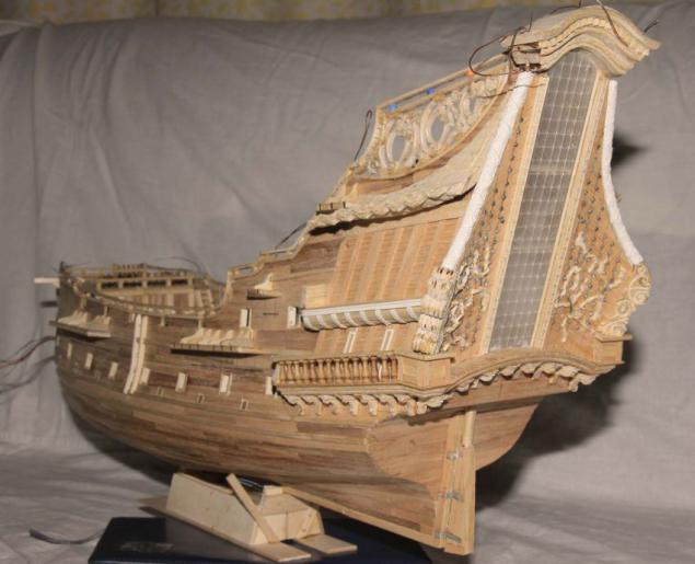 Как сделать модель парусника фото 978