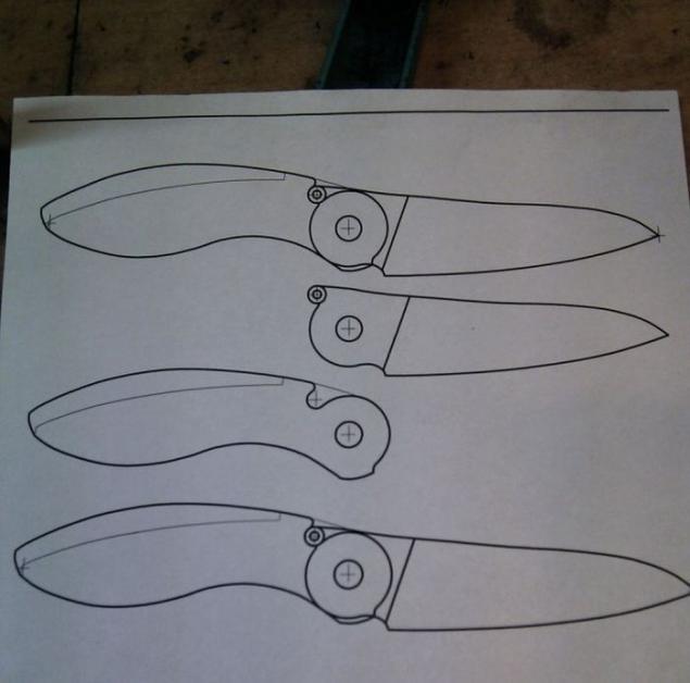 Складные ножи своими руками