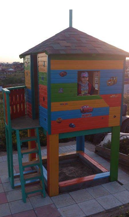 El mejor regalo para el dia del niño, casa de madera