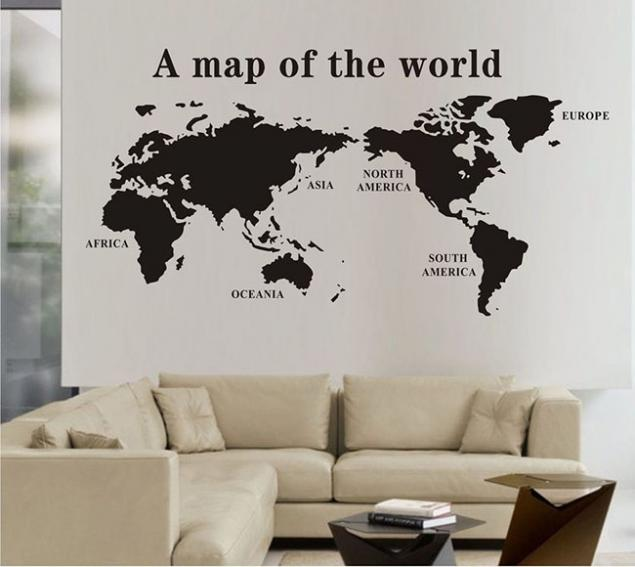How to make a wall decal at home