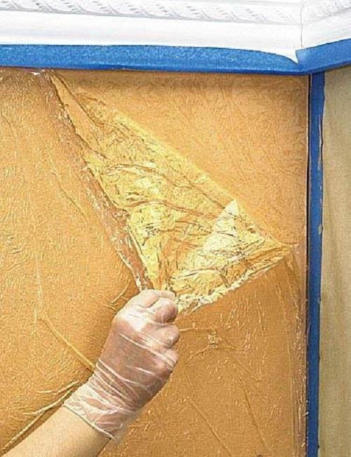 Декоративная шпаклёвка стен своими руками