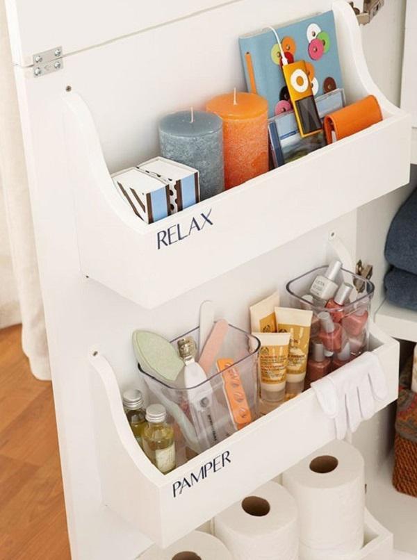 Deep drawer organizer bathroom