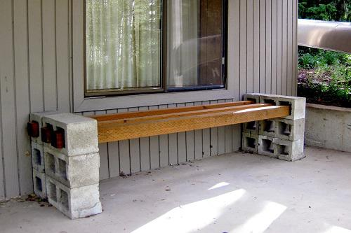 How to make a dining room bench