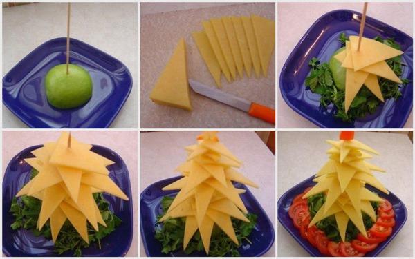 Как сделать еду на новый год своими руками