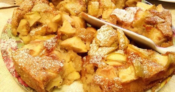 Яблочная шарлотка рецепт с фото