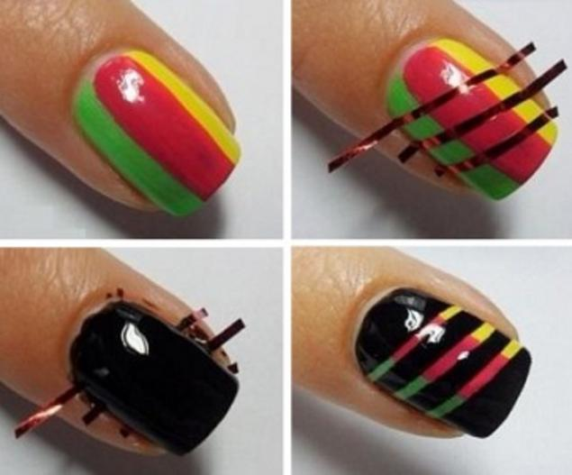 Дизайн для ногтей в домашних условиях видео