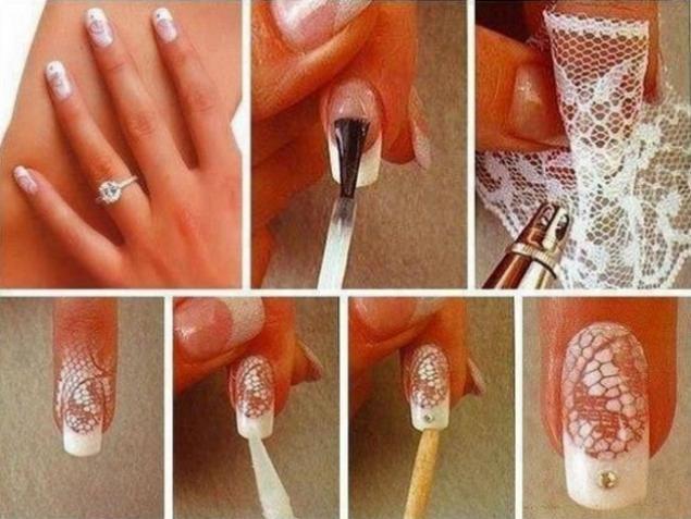 Как сделать рисунок на ногтях в домашних условиях гель лаком