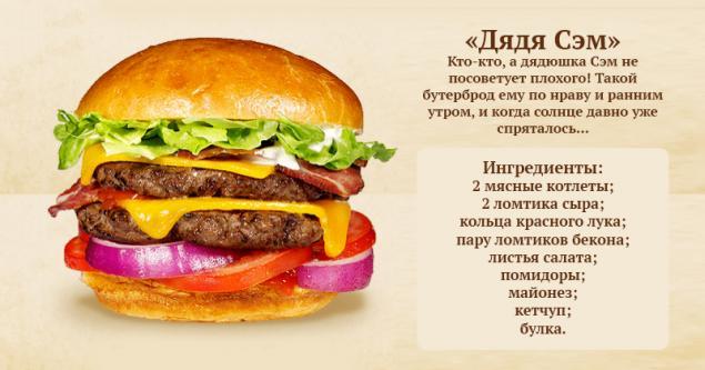 Рецепты самые лучшие бургеры