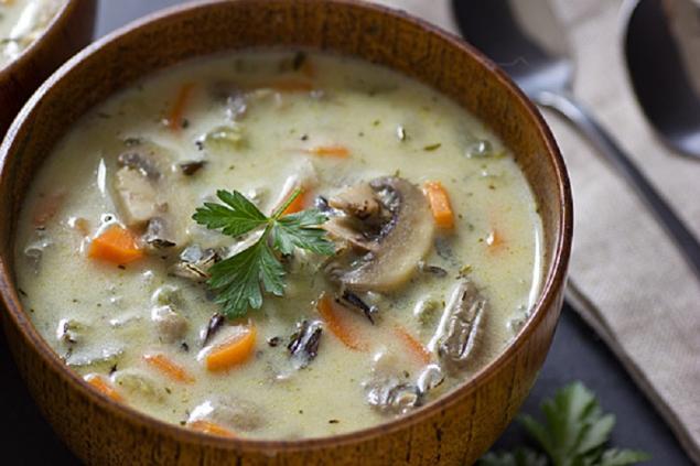 Сырные супыы с курицей