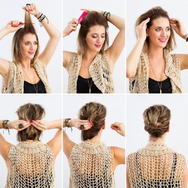 Peinados rapidos con pelo corto
