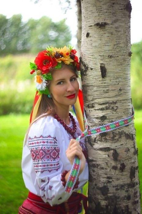 Красивая славянская картинка