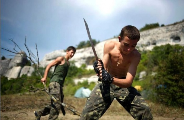 Military Camp For Teens In The Crimea 20 Photos
