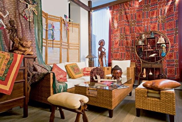 Фото дизайн интерьера в этническом стиле